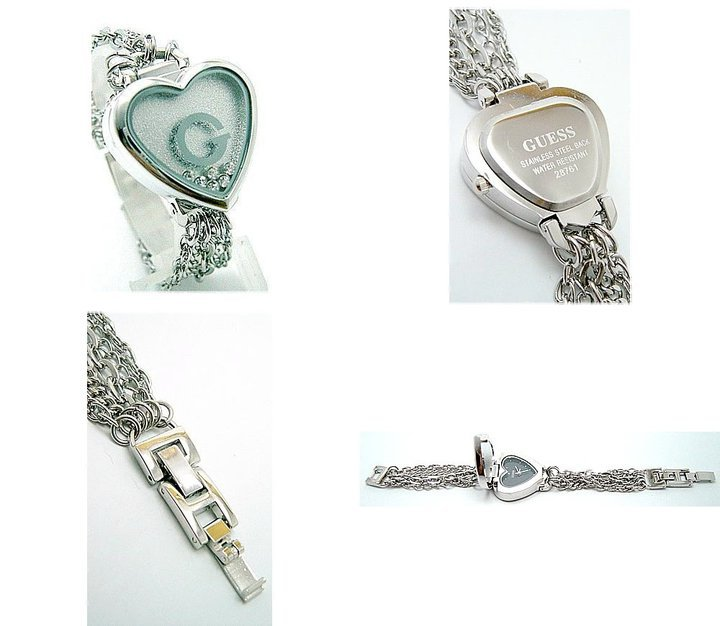 GUESS Love Moving Diamond G Ladies Jewelry Chain