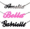 Personalize Acrylic Name Necklace