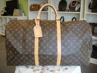 Louis Vuitton Monogram Keepall 60 96% New