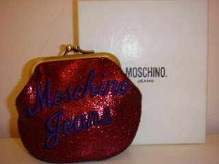 Moschino Coin Wallet 99% New