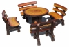 Wooden Like Garden set